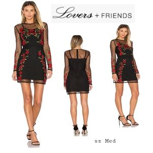 "Lovers + Friends ""Morella"" Dress. Sz Med"